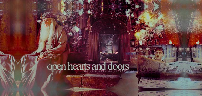 Open hearts and doors